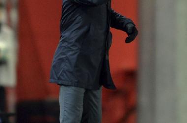 """Paco Jémez: """"Yo les pido por favor que de una vez desbloqueen esa situación que tenemos en nuestro estadio"""""""