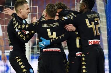 "Napoli - Giaccherini, parla l'agente: ""Al Chievo anche domattina"" - Foto SSC Napoli Twitter"
