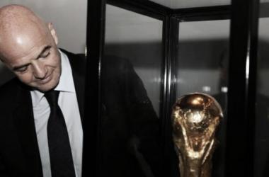 O novo presidente da Fifa, Gianni Infantino, promete mudanças profundas na estrutura da Copa do Mundo (Foto: Kin Saito/CBF)