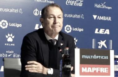 """Gianni de Biasi: """"Estoy feliz por la afición, los chavales y el Club"""""""