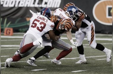 Giants amargan la noche en Cincinnati