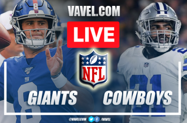 Highlights and Touchdowns: Giants 20-44 Cowboys in NFL Season