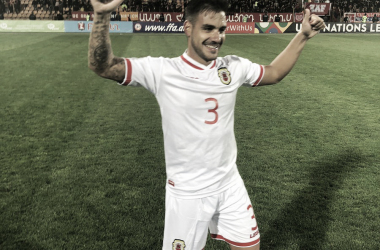Foto: Gibraltar/ Primera victoria en competición oficial.