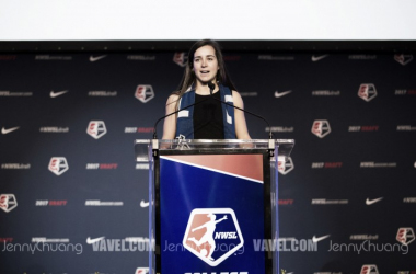 Fifth overall draft pick Christina Gibbons has signed with FC Kansas City. | Source: Jenny Chuang - VAVEL USA