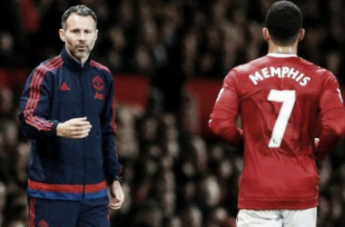 Memphis Depay rubbishes reports about Ryan Giggs reprimanding him