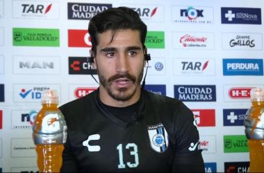 Gil Alcalá se encuentra motivado para el juego contra América