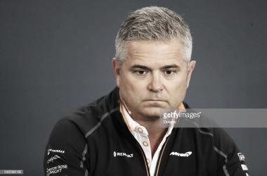 Gil de Ferrán en rueda de prensa   Fuente: Getty Images