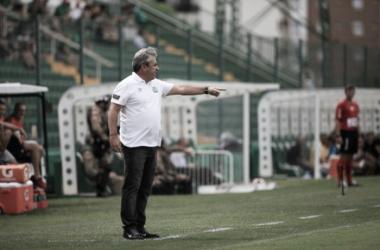 Gilson Kleina gostou da atuação da Chapecoense contra o Brusque. (Foto: Divulgação/Chapecoense)