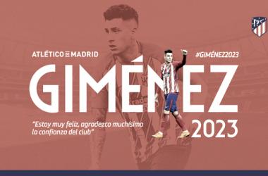 Giménez sella su confianza hasta 2023