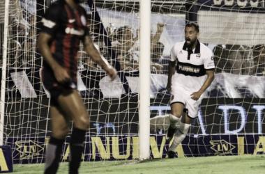 Facundo Pereyra festejando su gol | Foto: @gimnasiaoficial