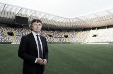 Gino Pozzo allo Stadio Friuli. Fonte: http://messaggeroveneto.gelocal.it