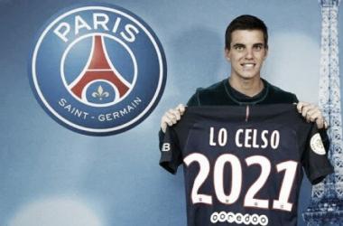 Giovani jugará en PSG por cinco temporadas. Foto: Paris Saint - Germain Oficial