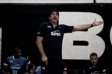 Giovane lamentou a derrota (Foto: Reprodução/Facebook Sesc-RJ)