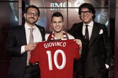 Giovinco é apresentado oficialmente no Toronto FC
