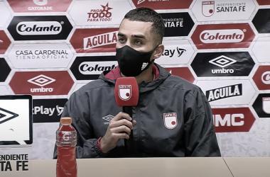 """Daniel Giraldo: """"El equipo nunca dejó de luchar"""""""