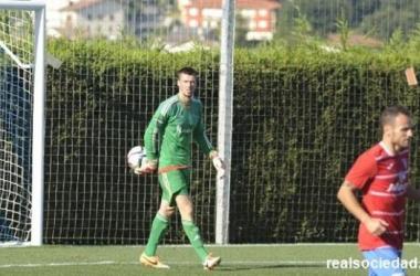 Gorka Giralt llega cedido al Portugalete