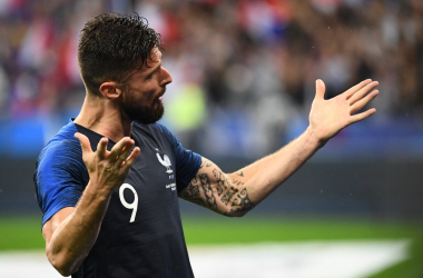 Francia, Deschamps pensa a Giroud per il Perù | www.twitter.com (@equipedefrance)