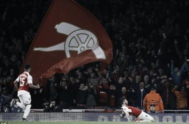 Giroud's goal against Bayern gave Arsenal hope, but finishing the job won't be easy (photo: ap)