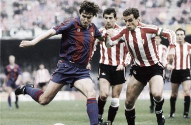 De Salinas a Alcácer, delanteros nacionales en Barcelona