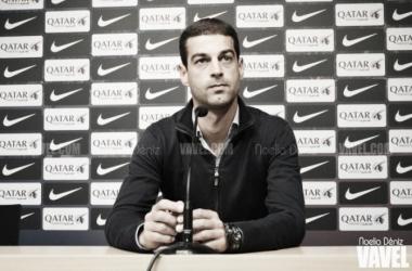"""Gerard: """"El equipo ha aguantado muy bien el resultado"""" // Fotografía: Noelia Déniz"""