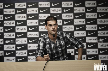 """Gerard López: """"Los chicos han jugado el partido que les he pedido"""""""