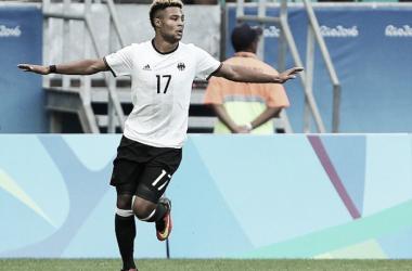 Gnabry stand mit der deutschen Olympia-Mannschaft im Finale des Turniers. | Quelle: Reuters