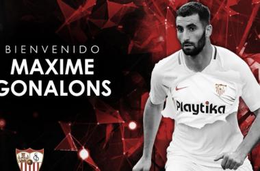 Gonalons es el octavo refuerzo del Sevilla. Foto: Sevilal FC.