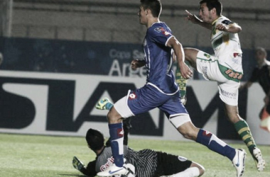 Godoy Cruz 3 - 3 Defensa y Justicia - Copa Argentina 2014. Foto: Fantasmarojo