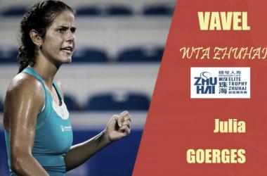 WTA Elite Trophy Zhuhai. Julia Goerges: de menos a más