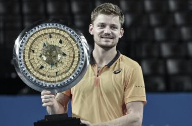 David Goffin venceu Roberto Bautista Agut no Open Sud de France 2021 (ATP / Divulgação)