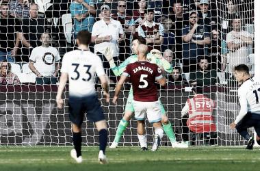 Lamela marcou o único gol da partida. (Foto:Reprodução/Twitter/Tottenham)