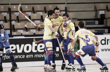 Buen debut de la Selección de hockey sobre patines ante el campeón europeo
