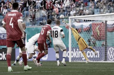 Gol de Miranchuk, Finlandia vs Rusia // Fuente: Selección de Rusia