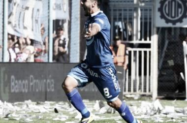 Gabriel Gudiño festeja la primera emoción de la tarde. // Foto: ESPN