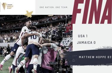 Estados Unidos acumula siete partidos invicta desde el 3 de junio y se enfrentará a Qatar en la semifinal de la Copa Oro 2021 | Fotografía: U.S.Soccer