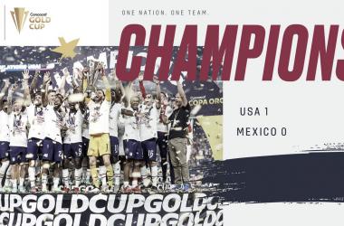 Estados Unidos, campeón de la Copa Oro 2021 | Fotografía: U.S.Soccer