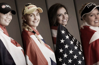 Some of the hopefuls for an historic medal in Rio (photo : LPGA)