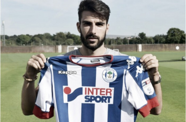 The 31-year-old was unable to nail down a starting berth in his time in the North-East. (Photo: Wigan Athletic)