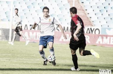 Goni en un lance del juego (Foto: Andrea Royo | VAVEL).