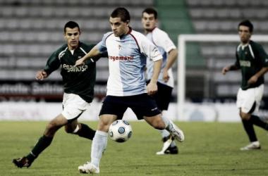 Gonzalo, en su etapa como jugador de la Esedé durante la campaña 2009 - 2010 | foto: SD Compostela.