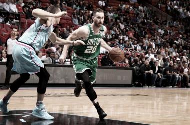 Gordon Hayward, con el balón. // Fuente: NBA.com