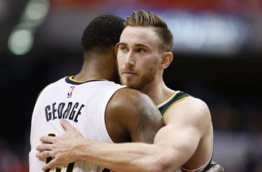 Hayward and George could be Celtics players in the coming weeks. Photo: USA-TODAY Sports