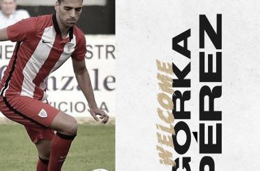 Gorka Pérez, nuevo fichaje del CD Badajoz// Foto: CD Badajoz