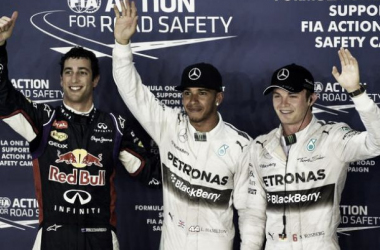 Hamilton prend la pole sur le fil