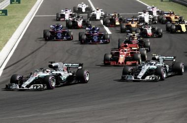 Salida del Gran Premio de Hungría 2018 | Fuente: Getty Images