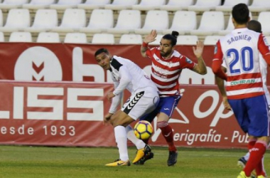 Lance del partido Albacete - Granada en el Carlos Belmonte | Foto: La Liga.