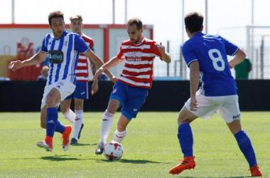 Lance del Granada B - Recreativo de Huelva | Foto: Pepe Villoslada - Granada CF