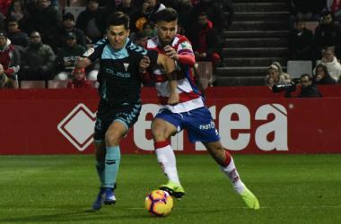 Imagen del partido de la primera vuelta que acabó con empate a uno. Foto: Antonio L Juárez