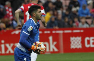 El arquero es una pieza fundamental en el gran año del conjunto andaluz. Foto: Antonio L Juárez