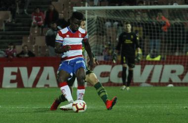 Ramon Azeez ya fue titular en el último partido frente Las Palmas. Foto: Antonio L Juárez